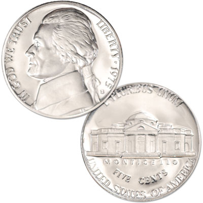 Image for 1975-S Jefferson Nickel Proof from Littleton Coin Company