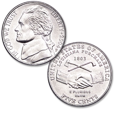 Image for 2004-P Jefferson Nickel, Peace Medal from Littleton Coin Company