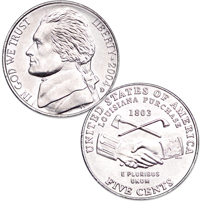 Image for 2004-D Jefferson Nickel, Peace Medal from Littleton Coin Company