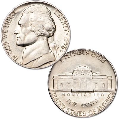 Image for 1976-D Jefferson Nickel from Littleton Coin Company