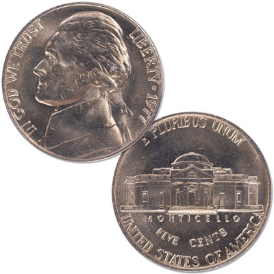 Image for 1977 Jefferson Nickel from Littleton Coin Company