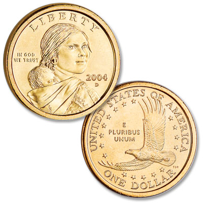Image for 2004-D Sacagawea Dollar from Littleton Coin Company