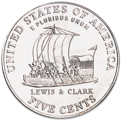 Image for 2004-P Jefferson Nickel, Keelboat from Littleton Coin Company
