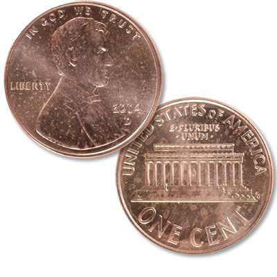 Image for 2004-D Lincoln Head Cent from Littleton Coin Company