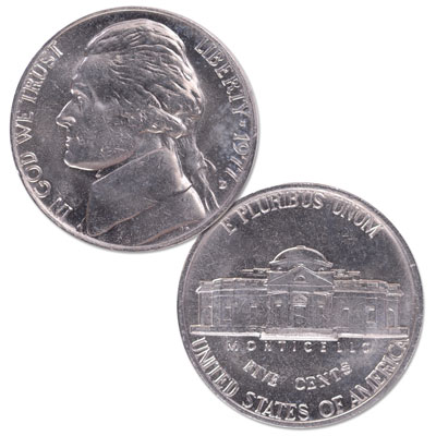 Image for 1977-D Jefferson Nickel from Littleton Coin Company