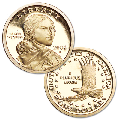 Image for 2004-S Sacagawea Dollar from Littleton Coin Company