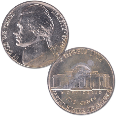Image for 1978 Jefferson Nickel from Littleton Coin Company