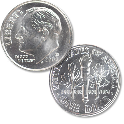 Image for 2004-D Roosevelt Dime from Littleton Coin Company