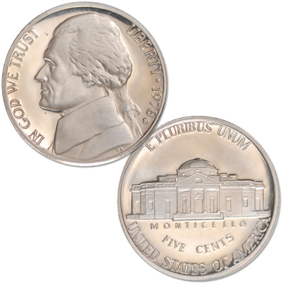 Image for 1978-S Jefferson Nickel Proof from Littleton Coin Company