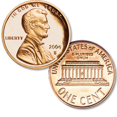 Image for 2004-S Lincoln Head Cent from Littleton Coin Company