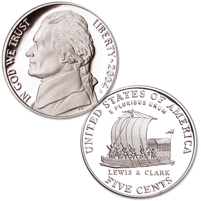 Image for 2004-S Jefferson Nickel, Keelboat from Littleton Coin Company