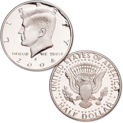 Image for 2004-S Kennedy Half Dollar, Clad, Proof from Littleton Coin Company