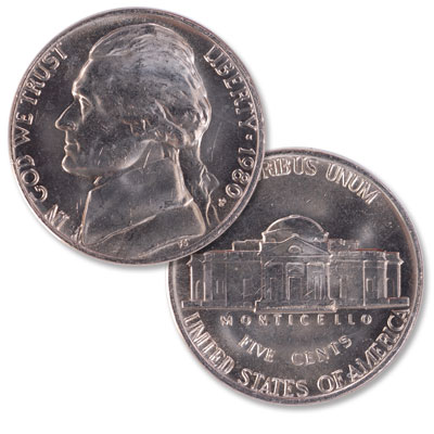 Image for 1980-P Jefferson Nickel from Littleton Coin Company