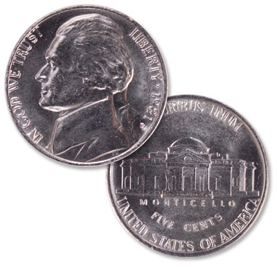 Image for 1981-P Jefferson Nickel from Littleton Coin Company