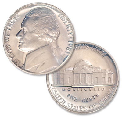 Image for 1981-S Jefferson Nickel Proof from Littleton Coin Company