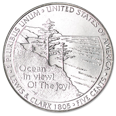 Image for 2005-P Jefferson Nickel, Ocean in View from Littleton Coin Company