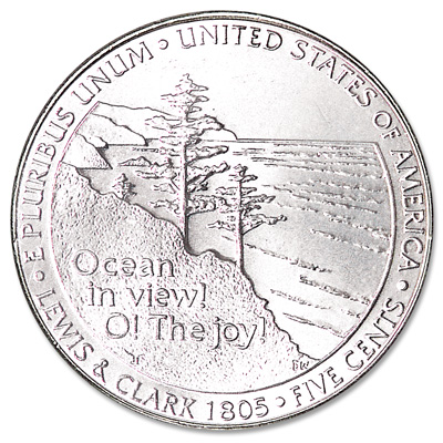 Image for 2005-D Jefferson Nickel, Ocean in View from Littleton Coin Company