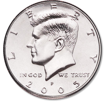 Image for 2005-P Kennedy Half Dollar from Littleton Coin Company