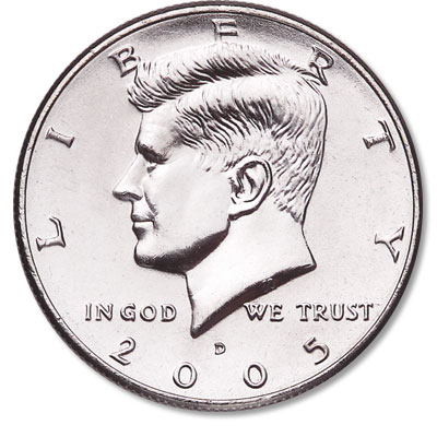Image for 2005-D Kennedy Half Dollar from Littleton Coin Company