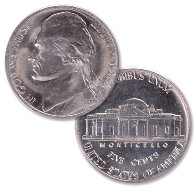 Image for 1982-P Jefferson Nickel from Littleton Coin Company
