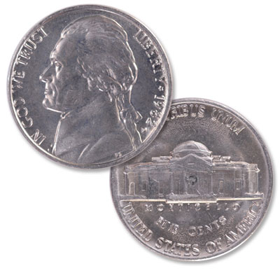 Image for 1982-D Jefferson Nickel from Littleton Coin Company