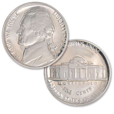 Image for 1982-S Jefferson Nickel Proof from Littleton Coin Company