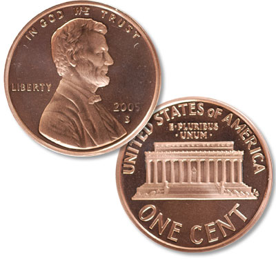 Image for 2005-S Lincoln Head Cent from Littleton Coin Company