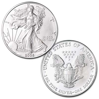 Image for 2006 $1 Silver American Eagle, Uncirculated from Littleton Coin Company