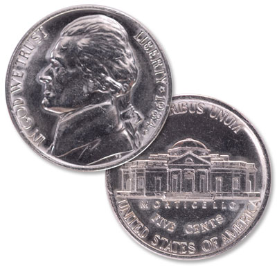 Image for 1984-P Jefferson Nickel from Littleton Coin Company