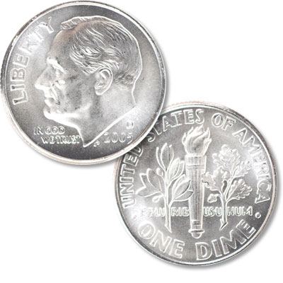 Image for 2005-D Roosevelt Dime from Littleton Coin Company