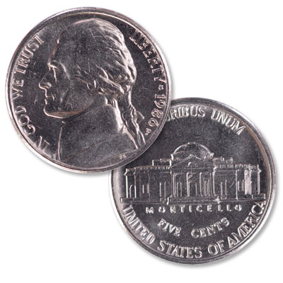 Image for 1986-P Jefferson Nickel from Littleton Coin Company