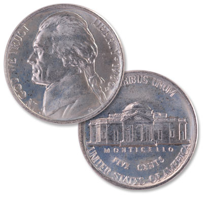 Image for 1986-D Jefferson Nickel from Littleton Coin Company