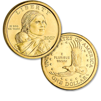 Image for 2007-D Sacagawea Dollar from Littleton Coin Company