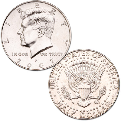 Image for 2007-P Kennedy Half Dollar from Littleton Coin Company