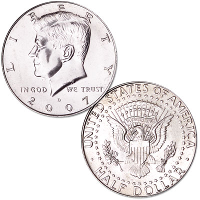 Image for 2007-D Kennedy Half Dollar from Littleton Coin Company