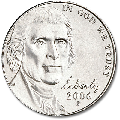 Image for 2006-P Jefferson Nickel, Return to Monticello from Littleton Coin Company