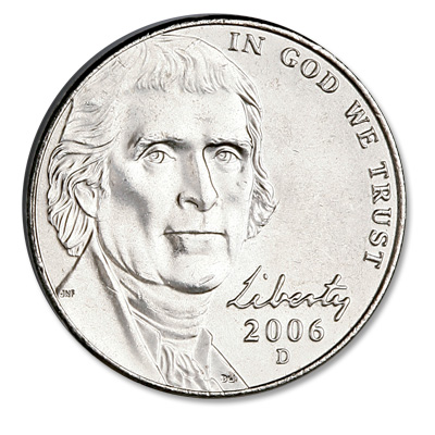 Image for 2006-D Jefferson Nickel, Return to Monticello from Littleton Coin Company