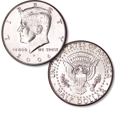 Image for 2006-P Kennedy Half Dollar from Littleton Coin Company