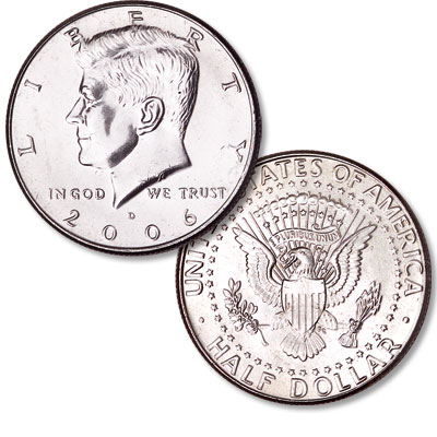 Image for 2006-D Kennedy Half Dollar from Littleton Coin Company