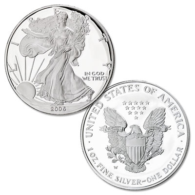 Image for 2006-W $1 Silver American Eagle from Littleton Coin Company