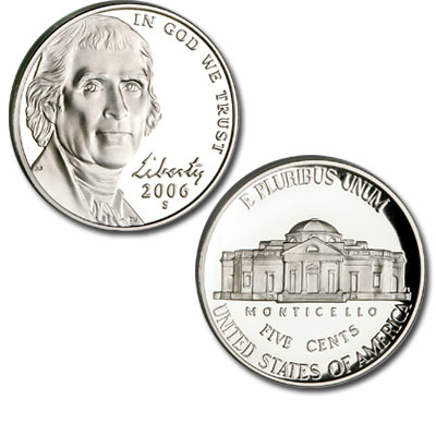 Image for 2006-S Jefferson Nickel from Littleton Coin Company