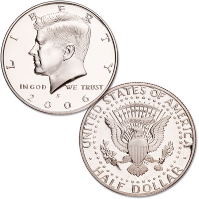 Image for 2006-S Clad Kennedy Half Dollar from Littleton Coin Company