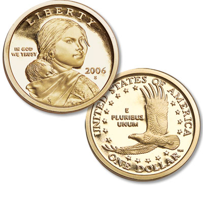 Image for 2006-S Sacagawea Dollar from Littleton Coin Company