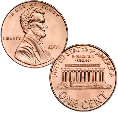 Image for 2006 Lincoln Head Cent from Littleton Coin Company