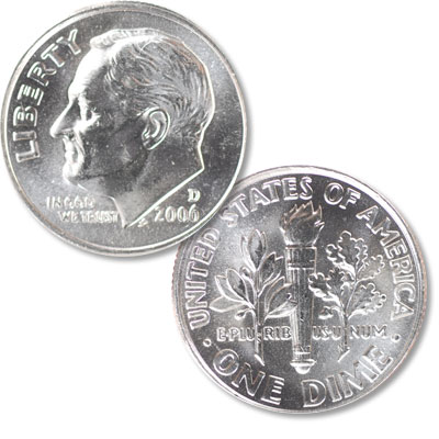 Image for 2006-D Roosevelt Dime from Littleton Coin Company