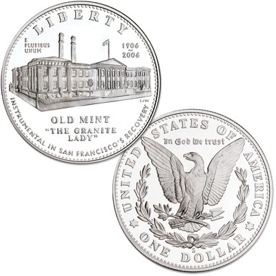 Image for 2006-S San Francisco Old Mint Commemorative Silver Dollar, Proof from Littleton Coin Company