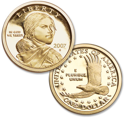 Image for 2007-S Sacagawea Dollar from Littleton Coin Company