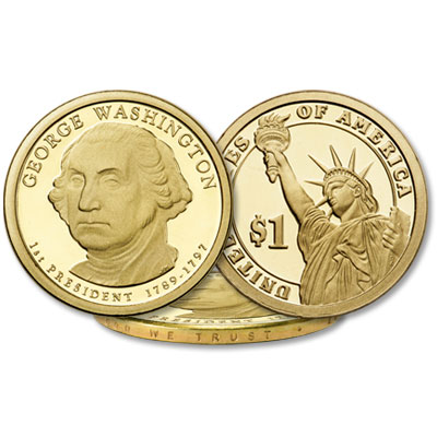 Image for 2007-S George Washington Presidential Dollar from Littleton Coin Company