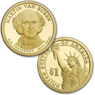 Image for 2008-S Martin Van Buren Presidential Dollar from Littleton Coin Company
