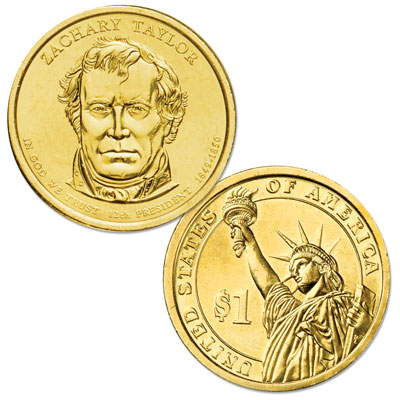 Image for 2009-P Zachary Taylor Presidential Dollar from Littleton Coin Company